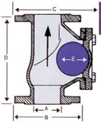 Example of a Ball Check Valve